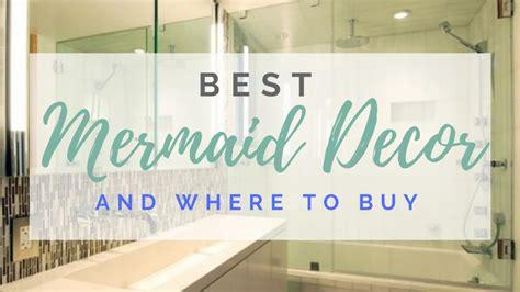 mermaid decor mermaid decor for your bathoom bedroom and more