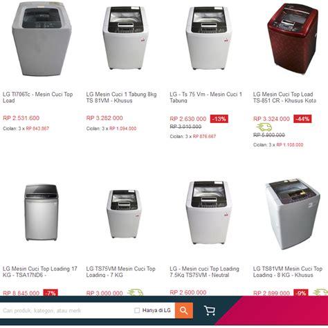 Harga Merk Mesin Cuci Lg harga mesin cuci lg 1 tabung terlengkap dan termurah