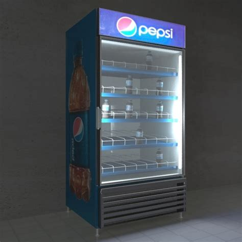 Max 2 In 1 Drinks Cooler 3ds max pepsi cooler