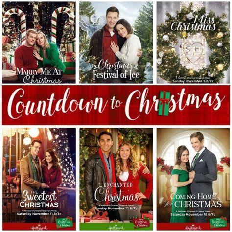 printable schedule of hallmark christmas movies hallmark channel countdown to christmas schedule 2017