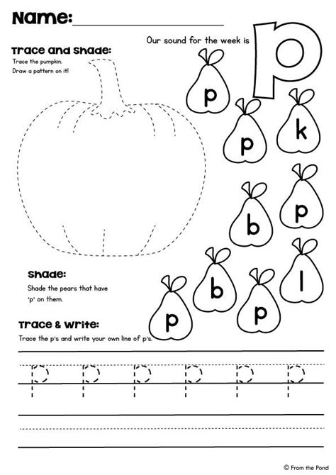 letter p worksheets 95 best images about letter p q r activities on 1433