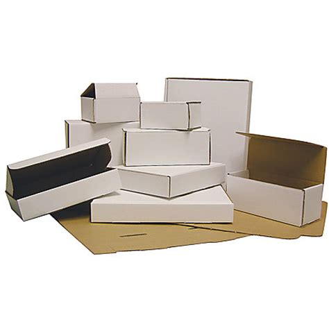 office depot brand white mailing boxes 100percent recycled