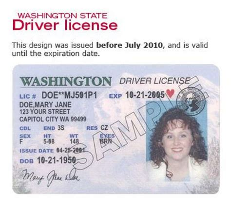 washington state id card template driver s licenses soon to cost a lot more seattlepi