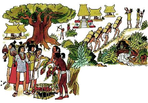 imagenes de mayas trabajando pochtecas comerciantes en el imperio azteca quhist com