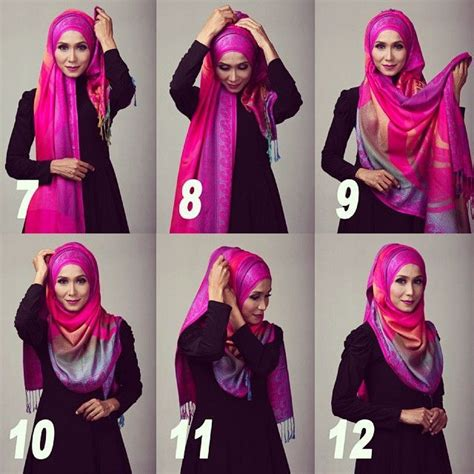 tutorial hijab pashmina terbaru hijab hijab fashion