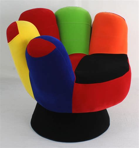 funky recliners funky mitt hand chair something different funk this house
