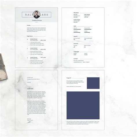 Resume Template Behance by Best Free Resume Templates On Behance