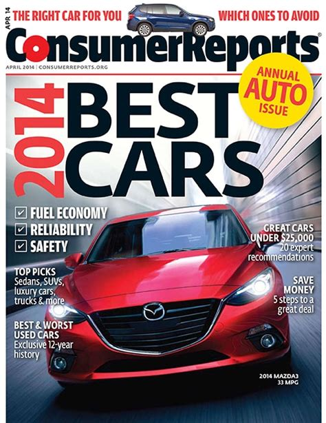 Consumer Reports Car Books by Consumer Reports 2014 Car Brand Report Cards