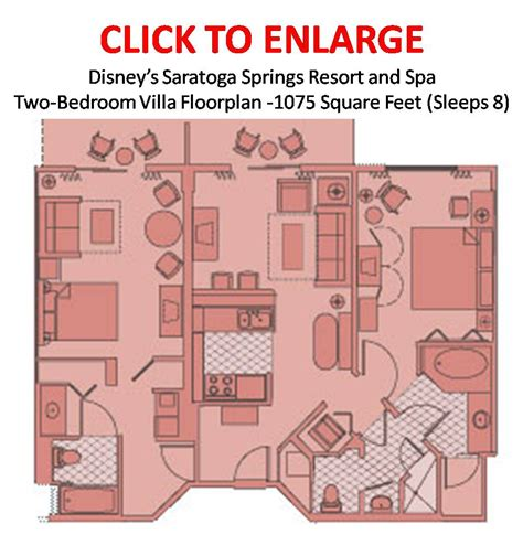 saratoga springs two bedroom villa floor plan trips 2014 resorts spa disney saratoga disney virgin
