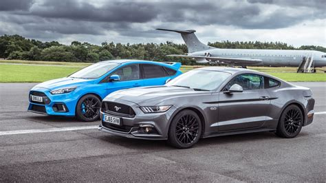 Ford Focus Gt Biser3a Drag Battle Ford Mustang Vs Ford Focus Rs Biser3a
