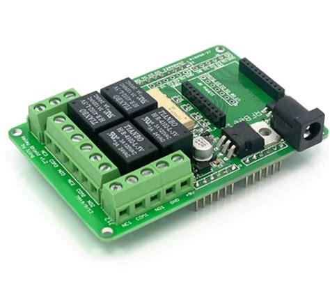 Arduino Relay Shield 4 Channel 4 mechanical channel relay shield module arduino