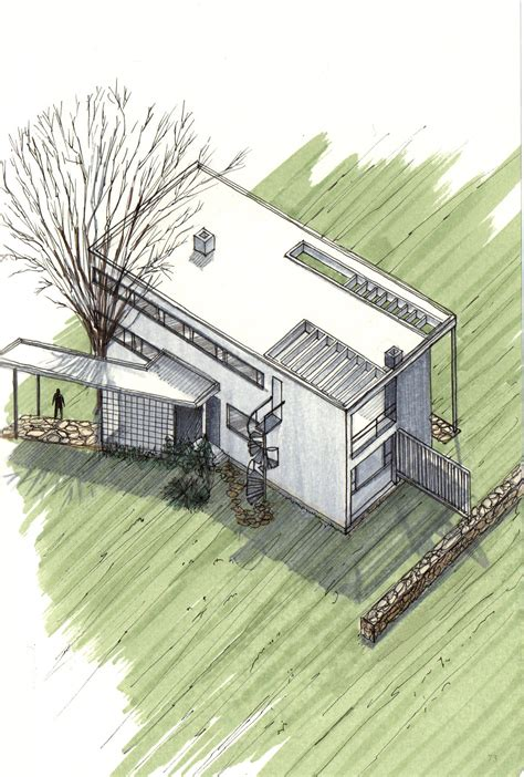 House Architecture Drawing Gallery Of 20 Beautiful Axonometric Drawings Of Iconic