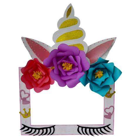 invitaciones de fomi de la marco unicornio mundo de la manualidades