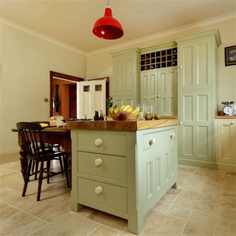 island units for kitchens country kitchen painted island unit housetohome co uk