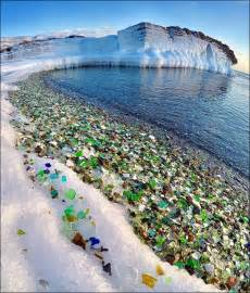 glass beaches glass where nature has turned pollution into