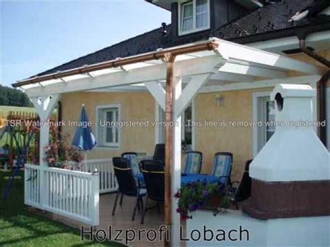 überdachung Terrasse Holz Glas by Terassendach Terrassen 252 Berdachung Carport Wintergrten Vsg
