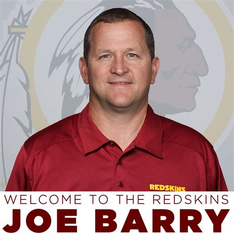 joe barry redskins hire joe barry as defensive coordinator