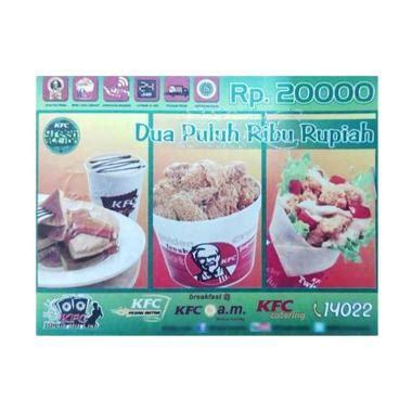 Kfc Value E Voucher Rp 100 000 jual voucher makan kfc terbaru promo harga termurah