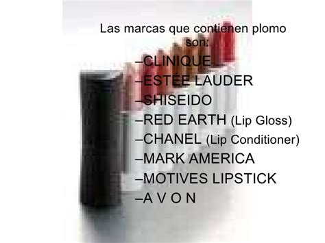 Lipstick De Avon Con Plomo lapiz