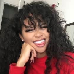 american n wavy hairstyles best 20 long front bangs ideas on pinterest pixie cut