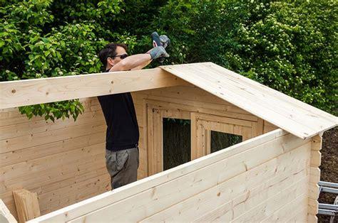 Plan Construction Abri De Jardin by Construire Un Abri De Jardin