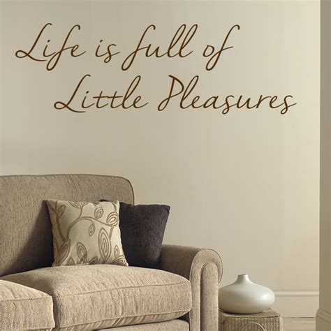 inspirational wall stickers is of pleasures motivational wall sticker decals