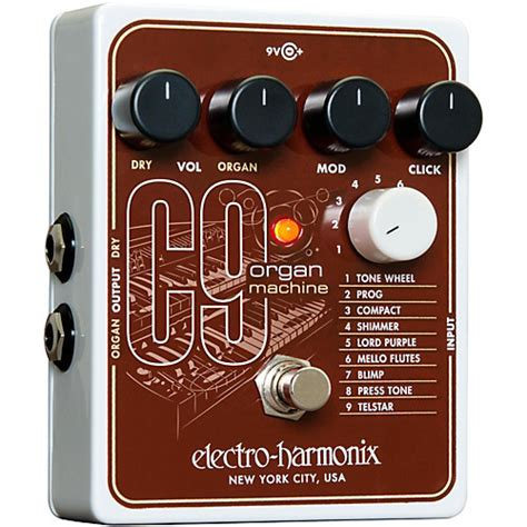 Electro Harmonix C9 Organ Machine electro harmonix c9 organ machine guitar effects pedal