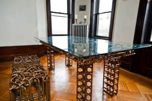 spectacular copper furniture and by tj volonis