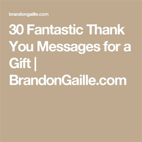 Thank You Card For A Gift - 23 best thank you messages and quotes images on pinterest