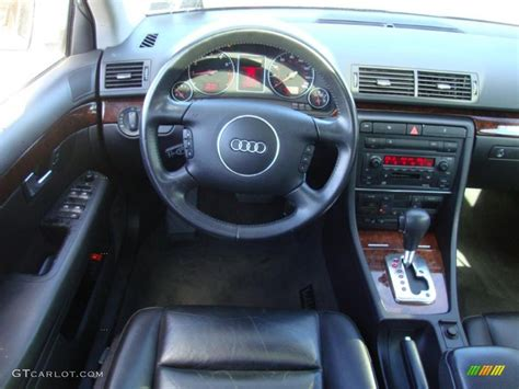 2003 Audi A4 3 0 Quattro Avant Ebony Dashboard Photo