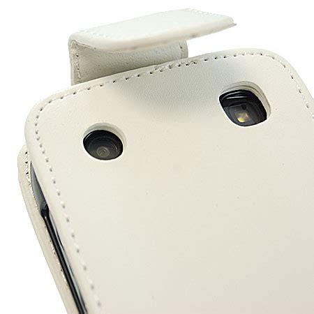 Cassing Bb 9360 Apollo Black White slimline flip for blackberry curve 9360 white