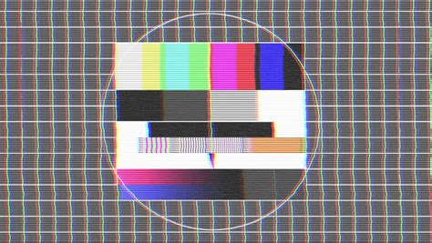 test pattern sound download hdtv test signal with sound stock footage video 3452045
