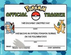 certificate pokemon awards free printable ideas family shoppingbag