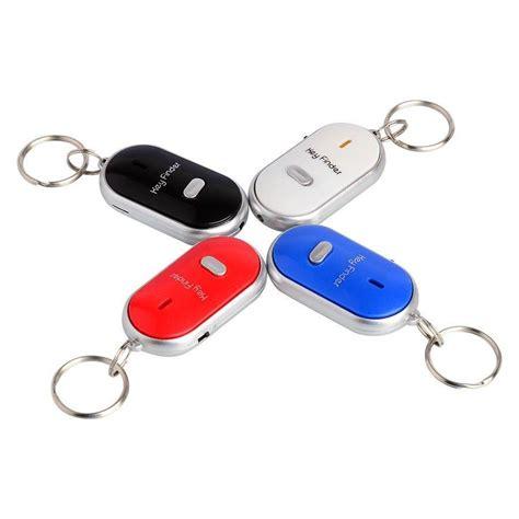Key Finder Merah gantungan kunci siul anti hilang laizsajan