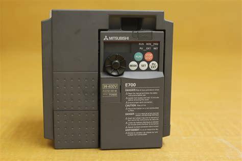 rblt mitsubishi e700 vfd inverter ac drive fr e740 060 na