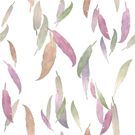 Ideas For Kids Bathrooms feather wallpaper in mauve by brett design contemporary