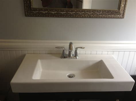 Rona Plumbing by Moen Bathroom Sink Faucet On Rona Sink And Cabinet