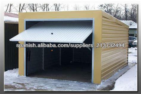 cobertizos metalicos garajes y cobertizos met 225 licos casas prefabricadas