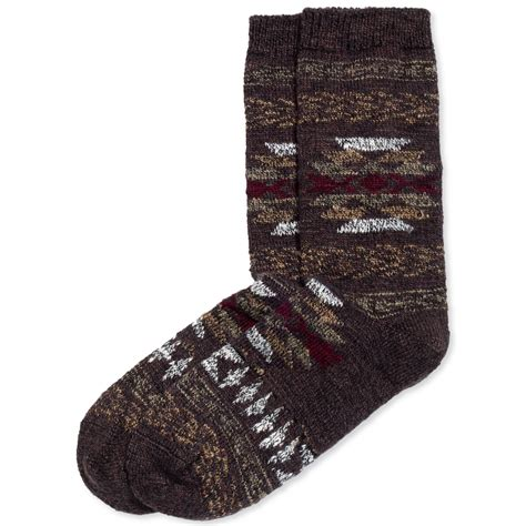 tribal pattern boots lyst hue socks tribal pattern boot sock in black