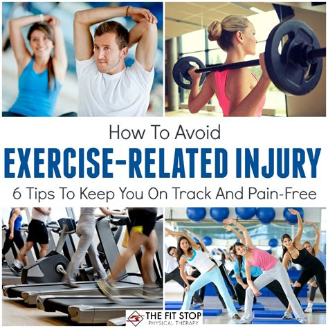 9 Tips To Prevent Workout Injuries how to avoid exericse injury fit stop physical therapy