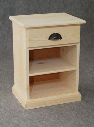 table de nuit etagere table de nuit bois brut 1 etag 232 re 1 tiroir chevet aubry
