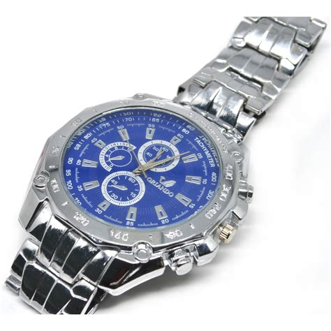 Orlando Stainless Steel Band Quartz With Tachymeter 8icw orlando stainless steel band quartz with tachymeter