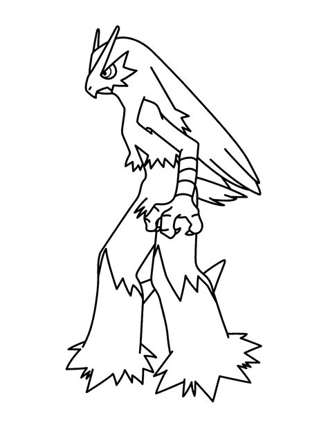 coloring page pokemon advanced coloring pages 291