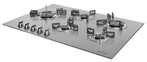 piano cottura acciaio satinato piani cottura in acciaio