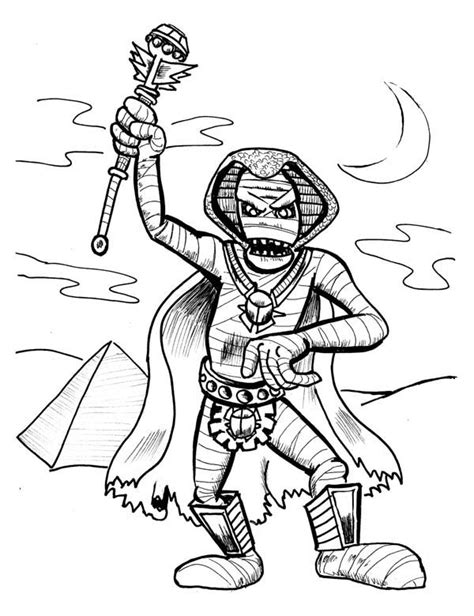 egypt mummy coloring pages mummy coloring pages