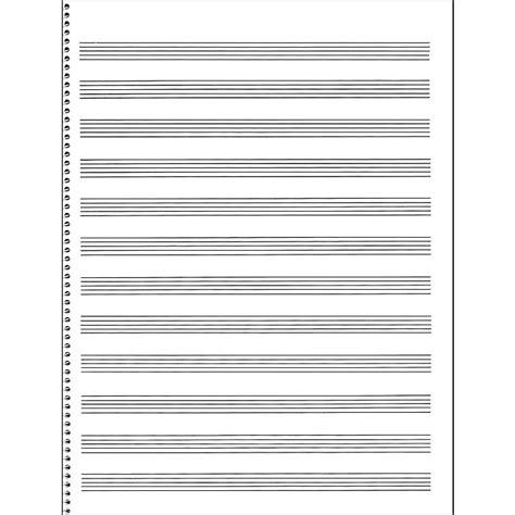 How To Make Manuscript Paper - sales passantino manuscript paper 65 12 stave 32