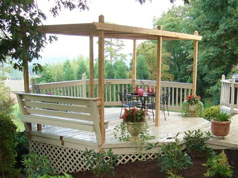 how to build pergolas how to build a backyard pergola hgtv