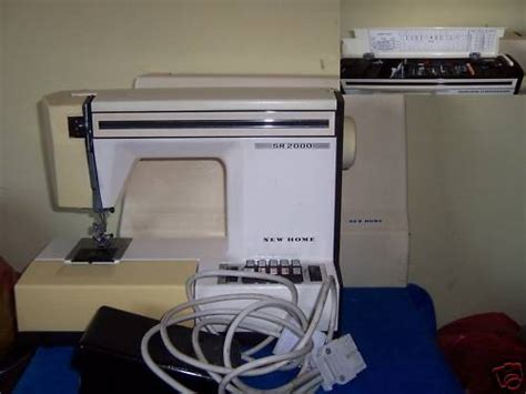 new home s 2000 sewing machine