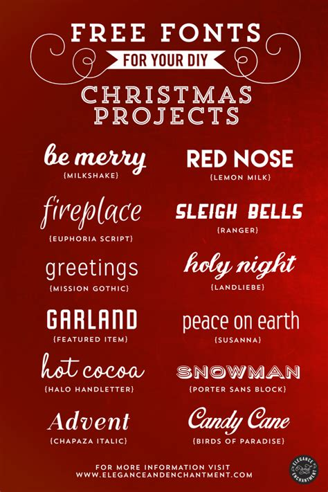 dafont xmas free fonts for christmas diy projects
