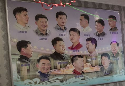 haircuts approved in north korea these are the state approved haircuts citizens are allowed